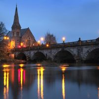 Night Photography in Shrewsbury