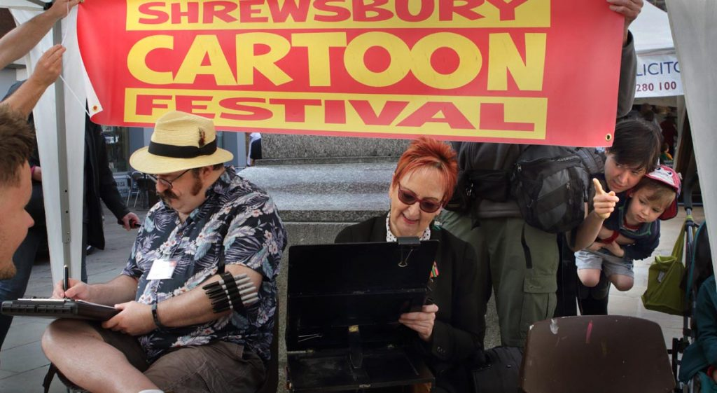shrewsbury photography friendly town, cartoon festival