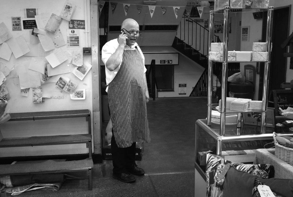 street photography workshops shrewsbury - indoor market hall
