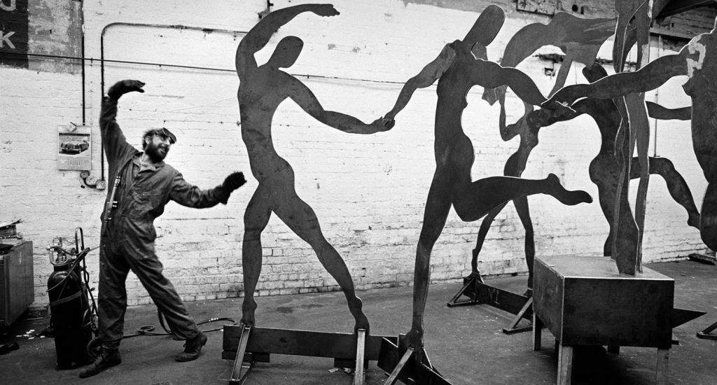 dancing welder the indepentent newspaper