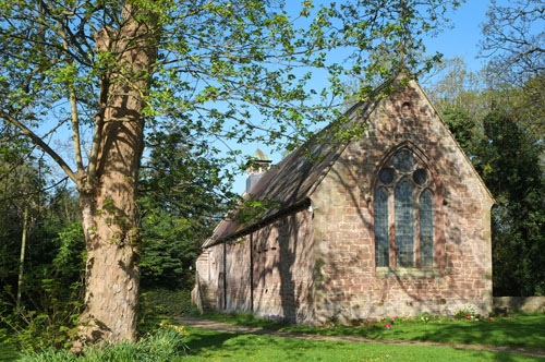 St Marys Church Longnor, Shropshire