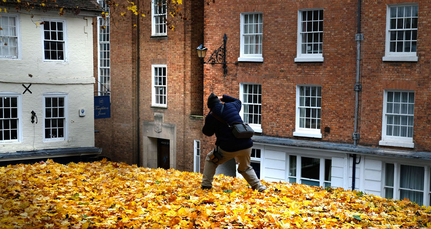 photography workshop shrewsbury autumn