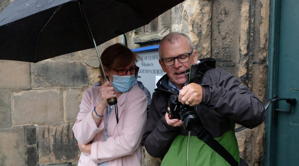 Street Photography Workshop in the rain
